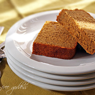 Gluten-Free Pumpkin Pie Bread.