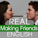Real English Making Friends icon