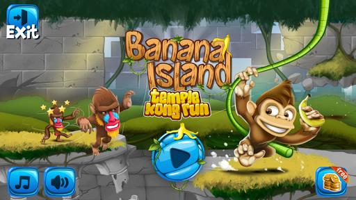 丛林猴子跑酷游戏 - 游戏酷跑