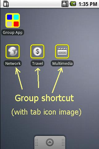Group Apps- screenshot