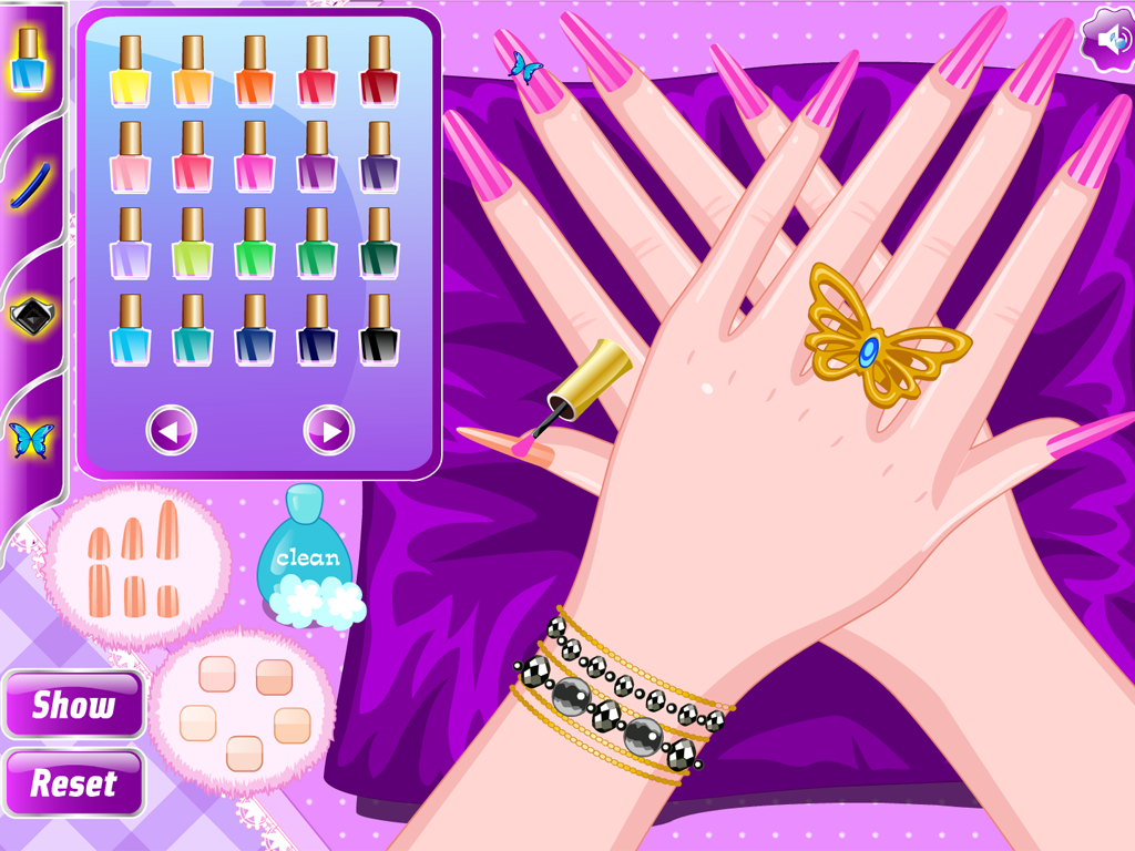 Salon nails manicure games android apps on google play for A nail salon game