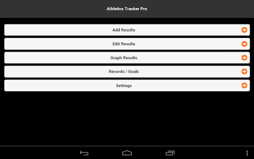 Athletics Tracker Pro