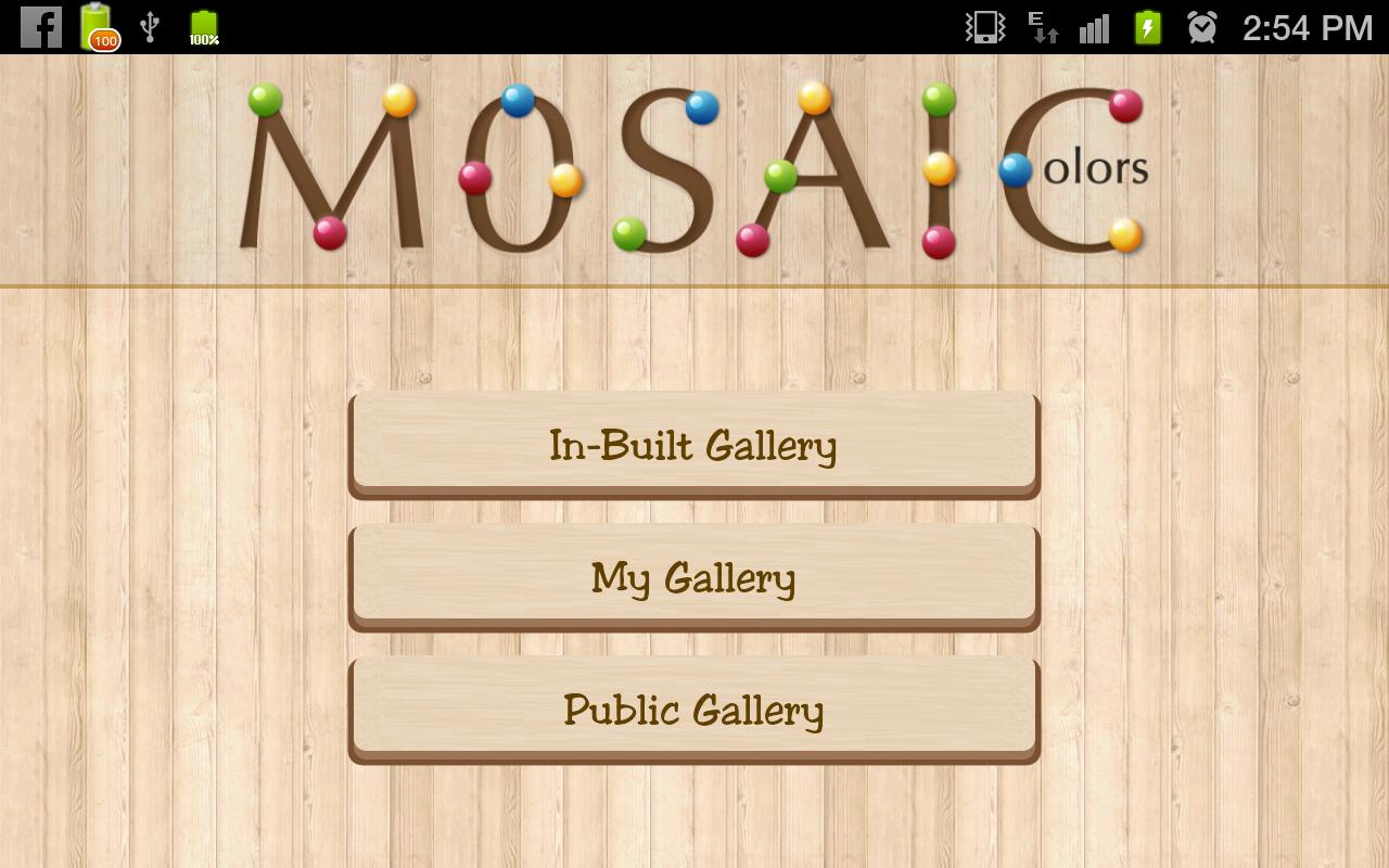 Mosaic Colors Pro- screenshot