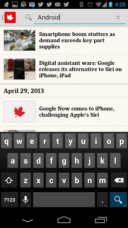 The Globe and Mail: News - screenshot