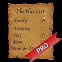TheNiceList Pro icon