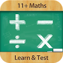 11+ Maths - Learn & Test Lite icon