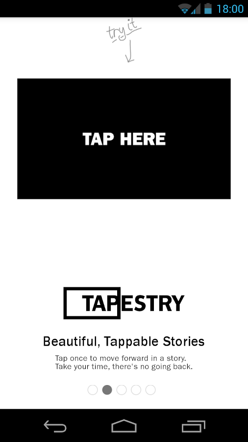 Tapestry: Tappable Stories- screenshot