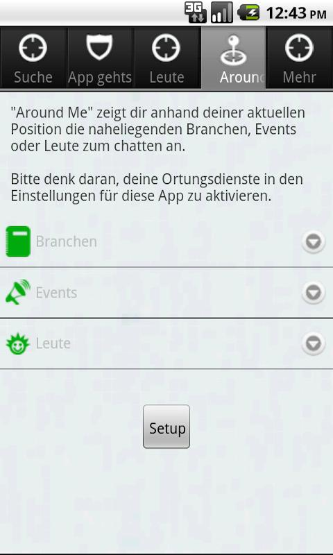 Passau geht App – Screenshot