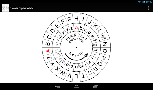Caesar Cipher Wheel- screenshot thumbnail