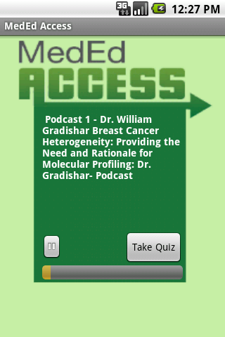 MedEd Access - screenshot