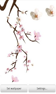 Lovely Sakura Live Wallpaper - screenshot thumbnail