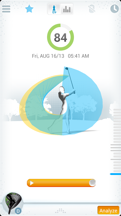 GolfSense- screenshot
