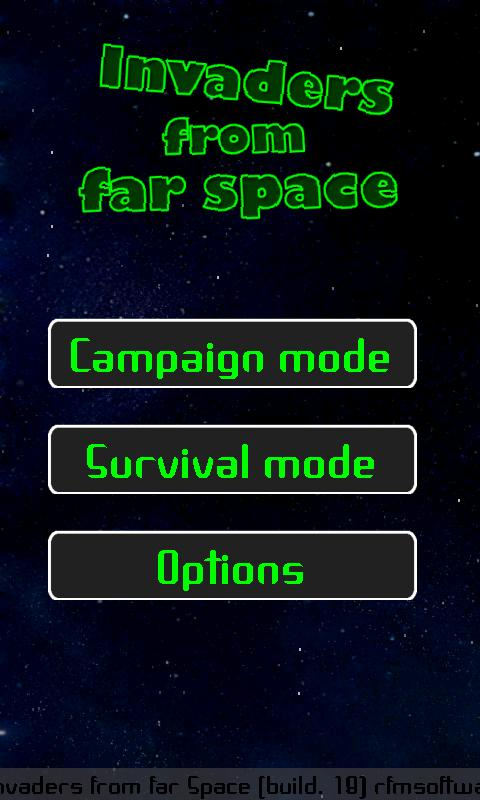 Invaders from far Space (full)- screenshot