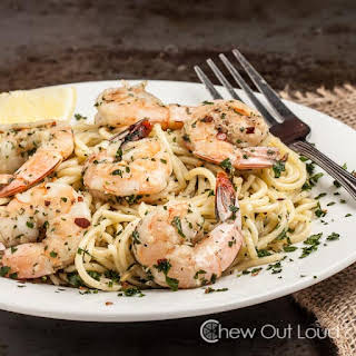 15-Minute Lemon Pepper Shrimp Scampi.