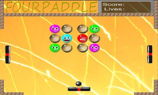 【免費街機App】FourPaddle-APP點子