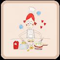 요리하는 소피아 카카오톡 테마 icon