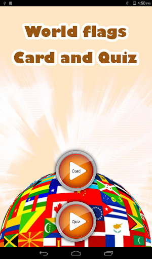 World Flag Car and Quiz
