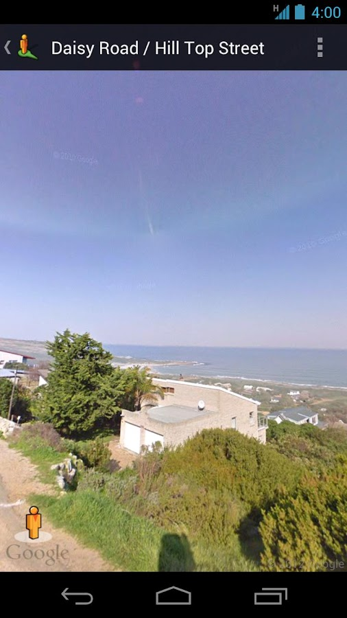 Street View on Google Maps - screenshot