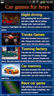 Car Games For Boys Free