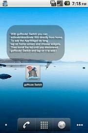 goRoute! Wifi Manager Screenshot 4
