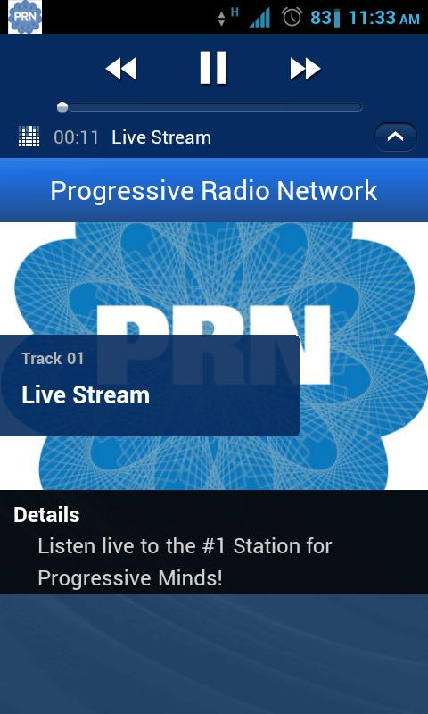 Progressive Radio Network - screenshot
