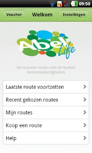 AbelLife - wandelen en fietsen - screenshot thumbnail