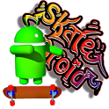Skate Droid LWP - Free Trial icon