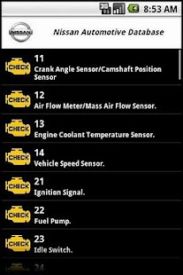 Nissan Automotive Database - screenshot thumbnail