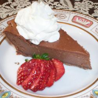 Chocolate Lovers Cheesecake.