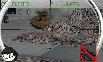 Screenshot of Sniper army: city on war