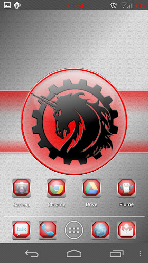 【免費個人化App】Red Framed Icons Free-APP點子