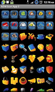 Icon App 3 ADW/OH/DVR/CP - screenshot thumbnail