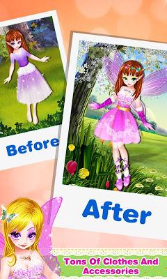 Butterfly Fairy Girls Dress Up - screenshot