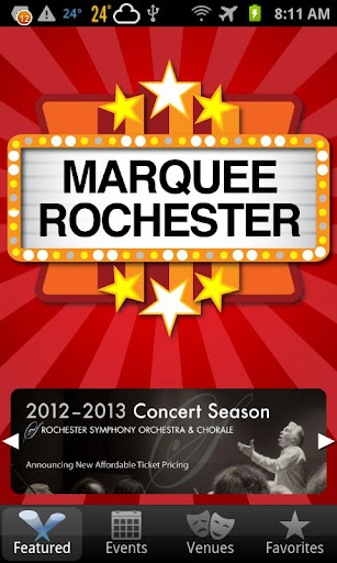 Marquee Rochester