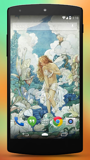 Vintage Fairy Wallpapers