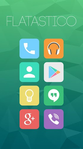 Flatastico – Icon Pack v5.0