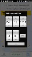 Screenshot of Yellow Cab Charleston SC