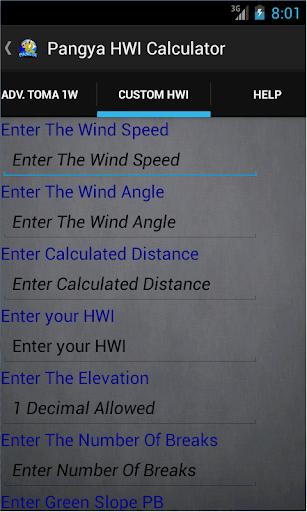 【免費工具App】Pangya HWI Calculator PRO-APP點子