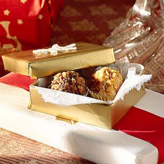 Chocolate-Praline Truffles.