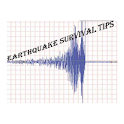 Earthquake Survival Tips logo