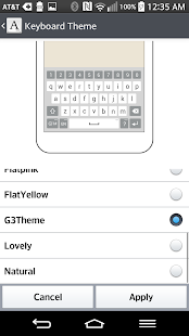 G3 Keyboard Theme LGHome
