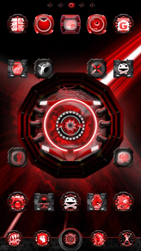 Ultimate EYE Phone GO Theme - screenshot