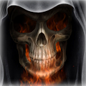 Skeleton in HellFire LWP icon