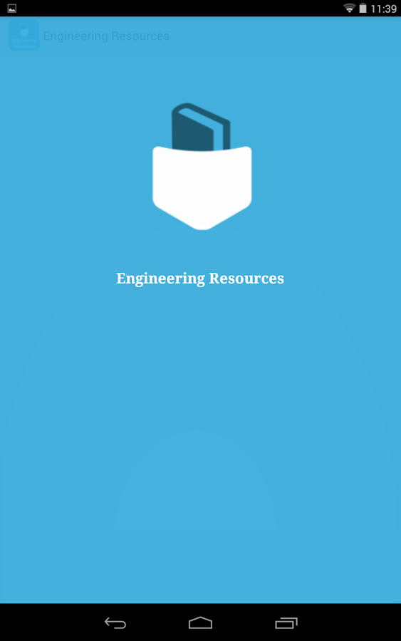 Engineering Resources- screenshot