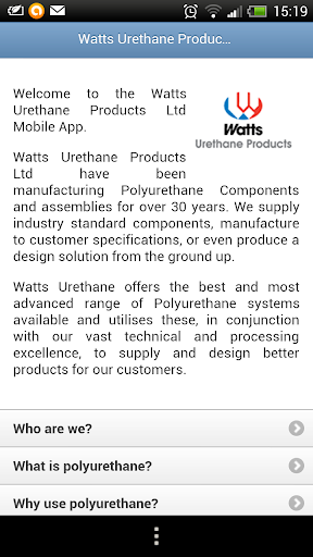 Watts Urethane Products