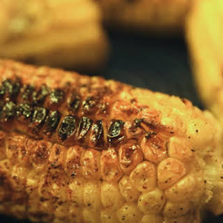 Fire-Grilled Chili Lime Corn Cobs.