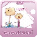 NK 카톡_모모N모니_거절한돠 카톡테마 icon