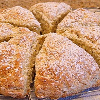 Lemon- Poppyseed Scones