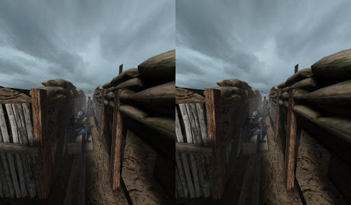 Into the WW1 trenches VR