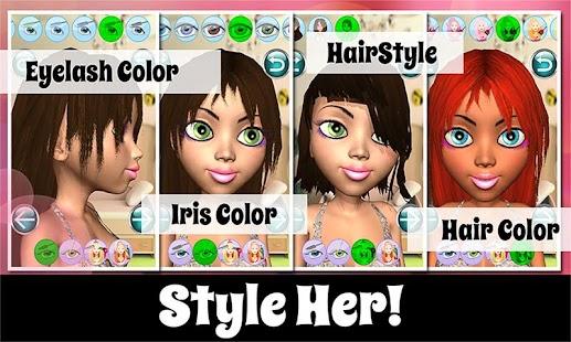 Princess Salon: Make Up 3D Pro - náhled